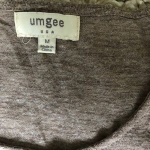 Umgee Tops - Umgee Shoulder Cut Out Tee. Size Medium.